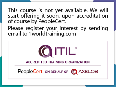 ITIL 4 Strategist: ITIL Leader – Digital and IT Strategy (DITS)