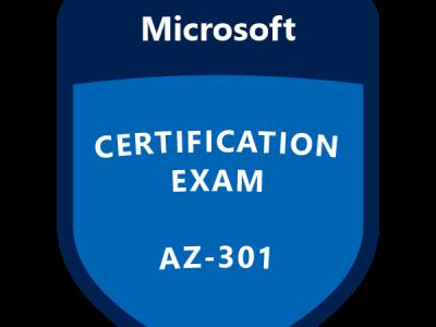 AZ-301: Microsoft Azure Architect Design