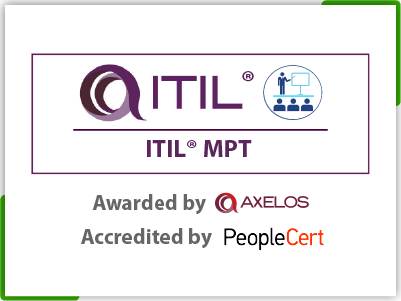 ITIL 4 Managing Professional Transition Module (MPT) Official PeopleCert Certification